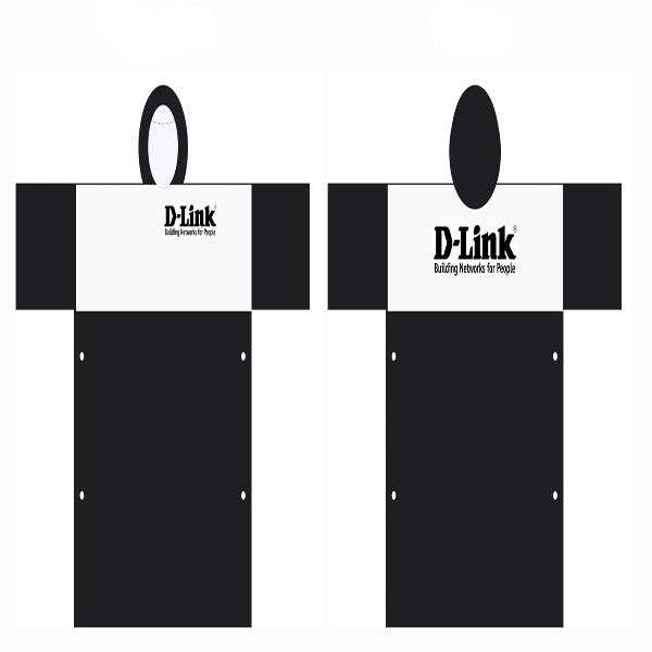 áo mưa quảng cáo D-Link